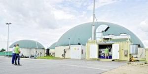 Biogasanlage und BHKW