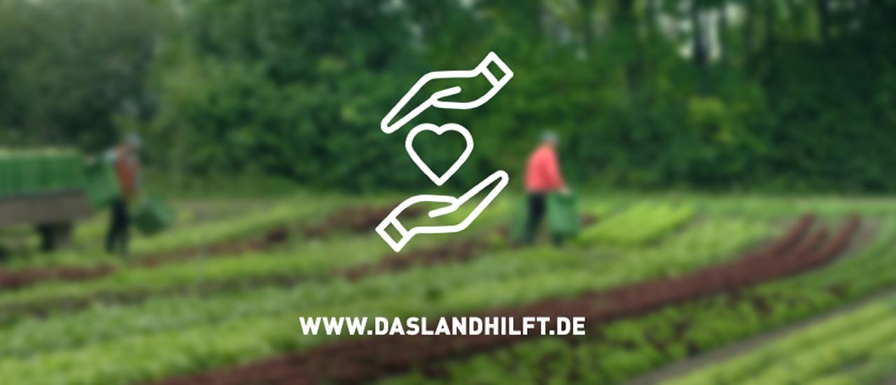 Neue Erntehelfer-Plattform daslandhilft.de gestartet