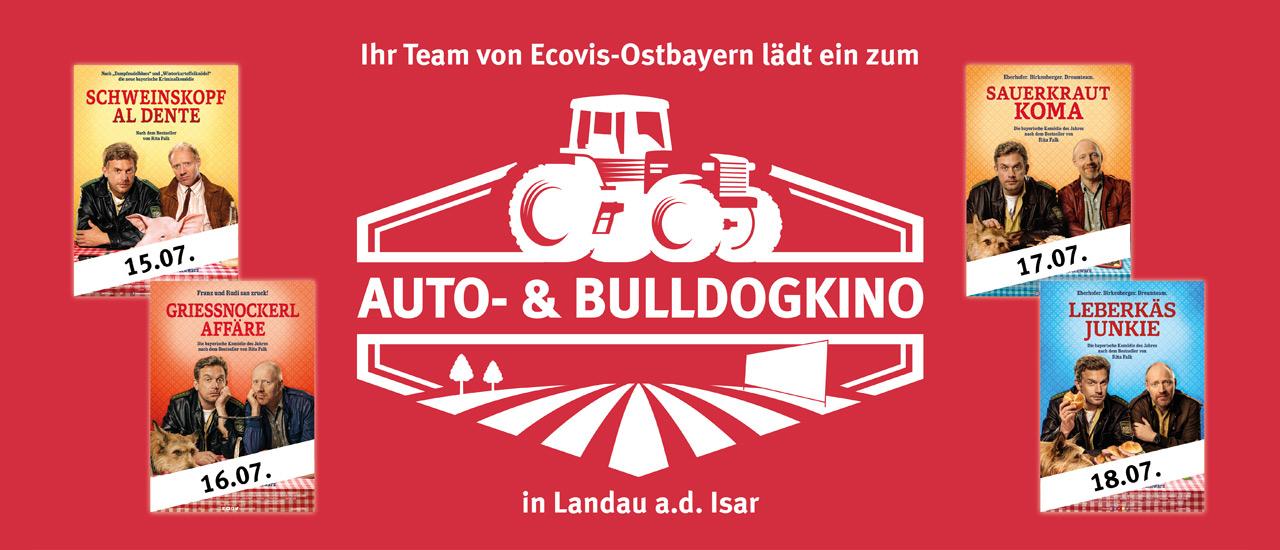 Mit Ecovis ins Auto- & Bulldogkino nach Landau/Isar