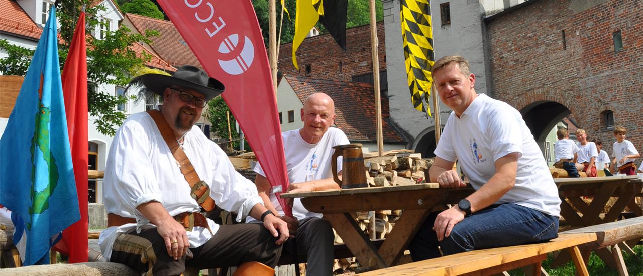 Ecovis beim Ruethenfest
