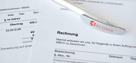 Rechnung korrigieren bei falscher Umsatzsteuer