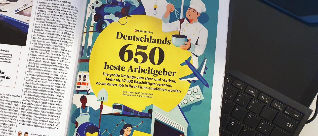 Stern: Ecovis gehört zu Deutschlands besten Arbeitgebern