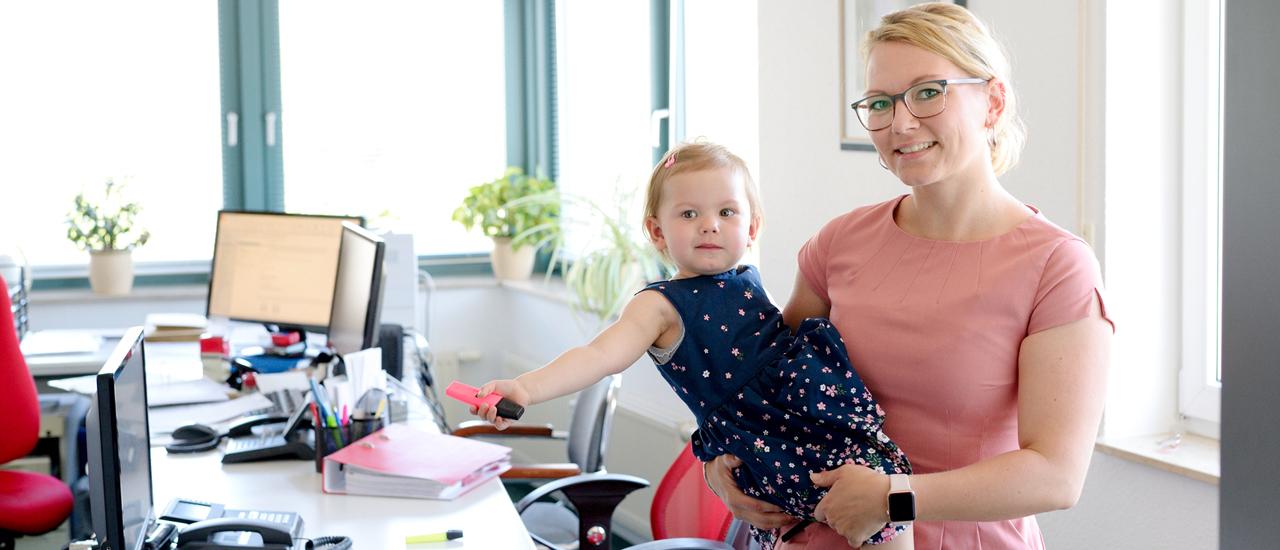 Steuerberaterin, Mutter und Chefin