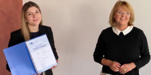 Als Ausbildungsbotschafterin für die eigene Ausbildung werben - Ecovis Karriere