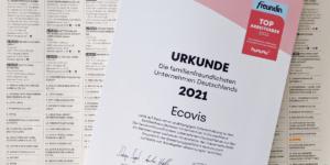 Freundin und kununu: Ecovis zählt zu Deutschlands familienfreundlichsten Arbeitgebern 2021 - Ecovis Karriere