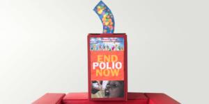 Kunststoffdeckel gegen Polio - Ecovis & friends Stiftung