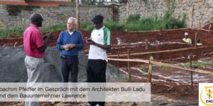Die Bauarbeiten haben begonnen - Ecovis & friends Stiftung