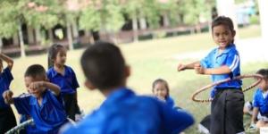 Physik- und Chemieklassenzimmer für Schule in Laos - Ecovis & friends Stiftung