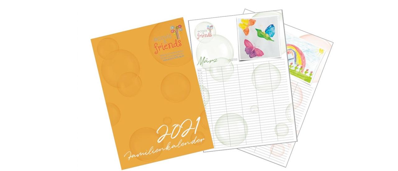 Der Ecovis & friends Familienkalender ist da – Kalender kaufen und Gutes tun