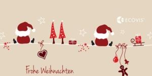 Frohe Weihnachten - Ecovis & friends Stiftung