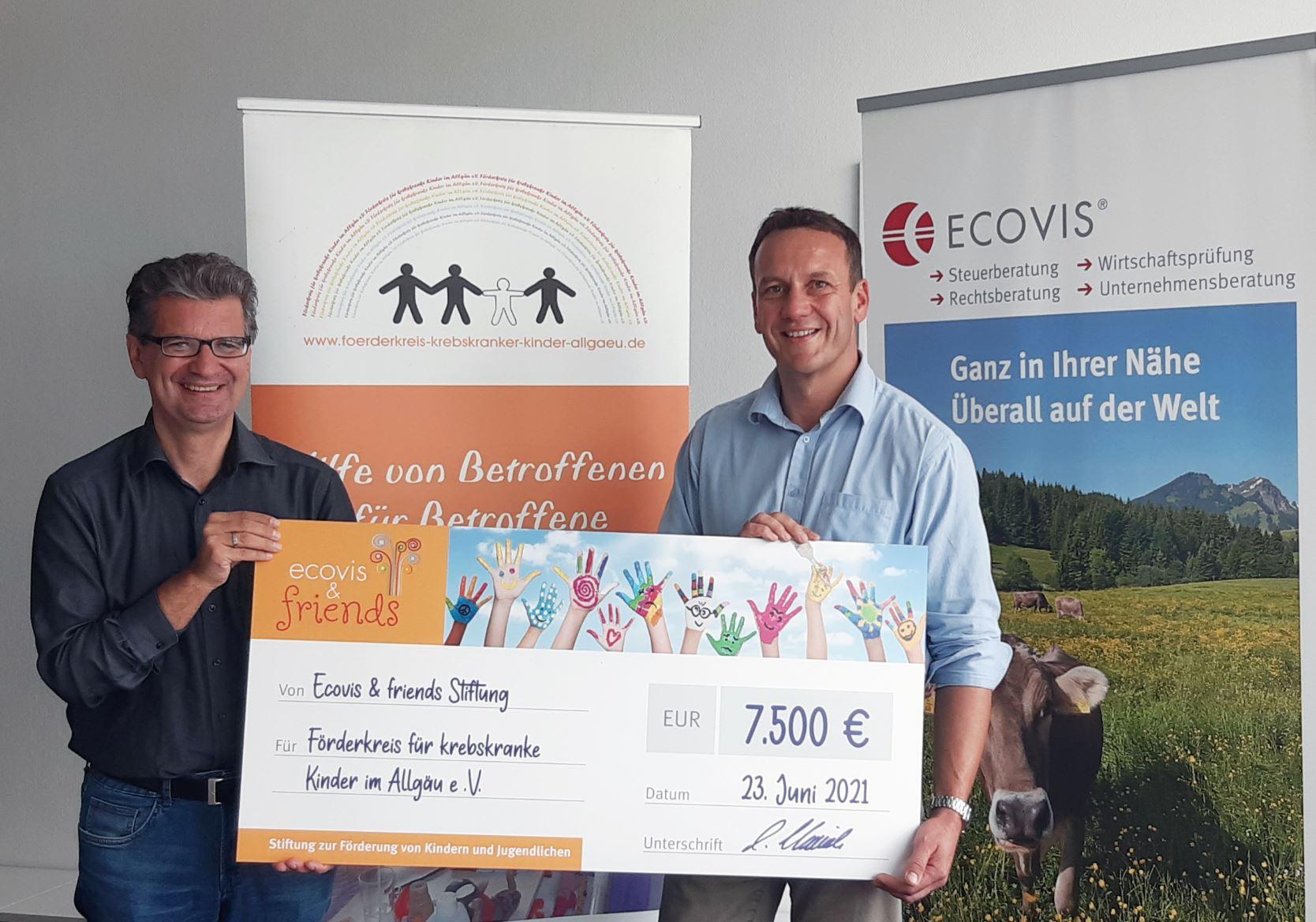 Spendenübergabe in Kempten