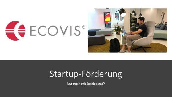 Startup-Förderung nur bei Betriebsrat