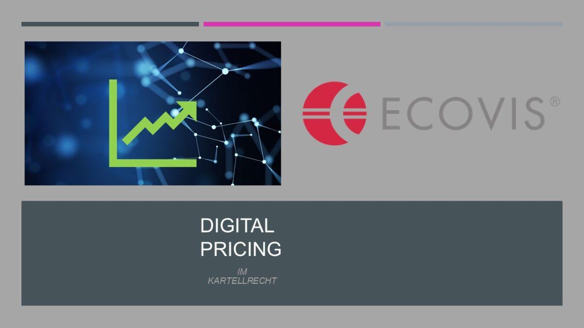 Digital Pricing