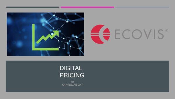 Digital Pricing: Was ist zu beachten?
