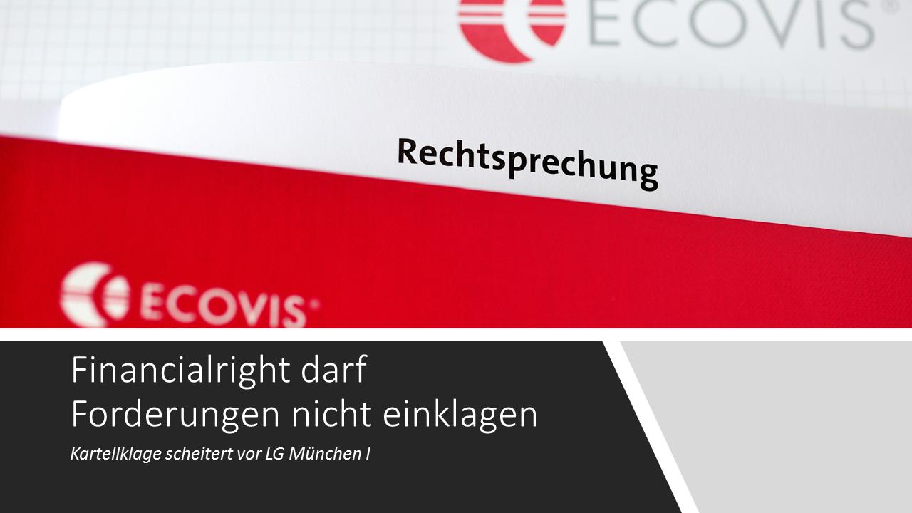 Financialright: Klage abgewiesen - Technology & Law