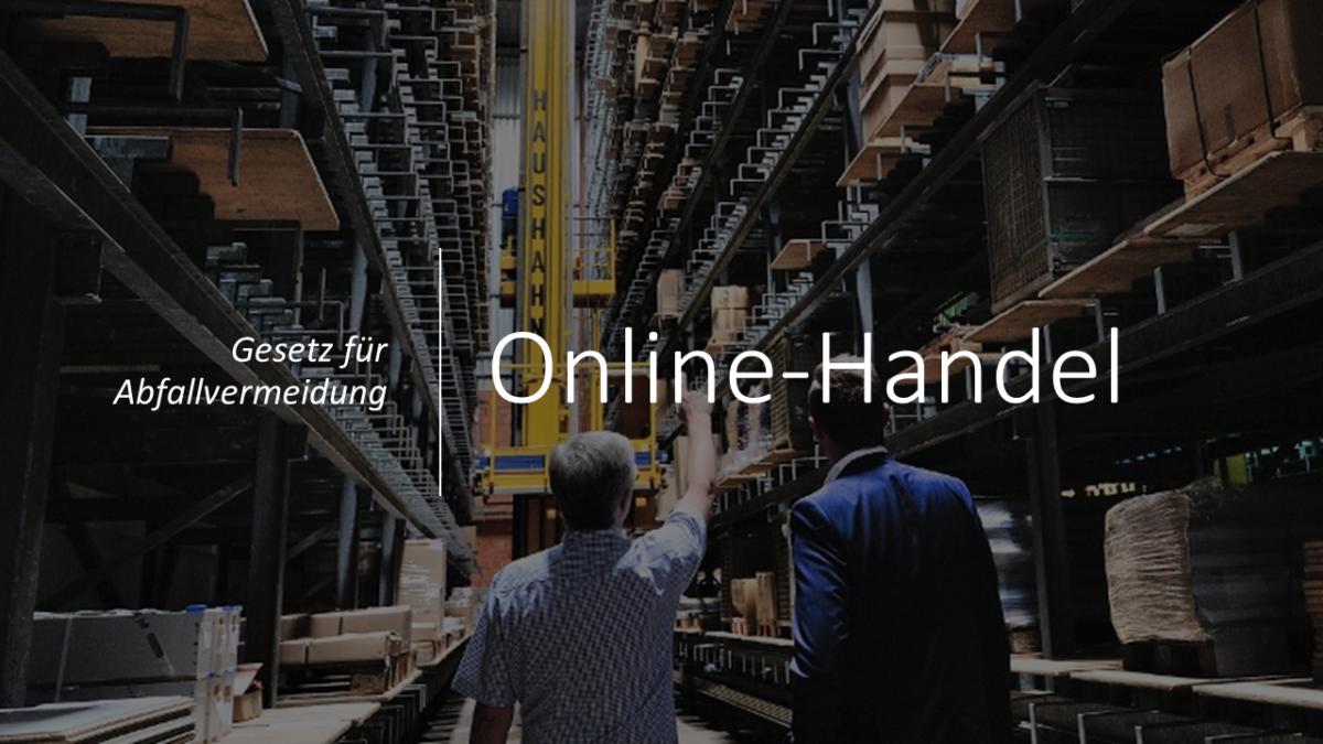 Online-Handel: Gesetz für Abfallvermeidung