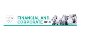 Financial and Corporate 2018. IFLR1000 - Ecovis Ukraine