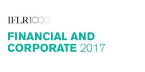 Financial and Corporate 2017. IFLR1000 - Ecovis Ukraine