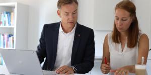 Kompetente Beratung bei der Unternehmensnachfolge - Ecovis Unternehmensberater